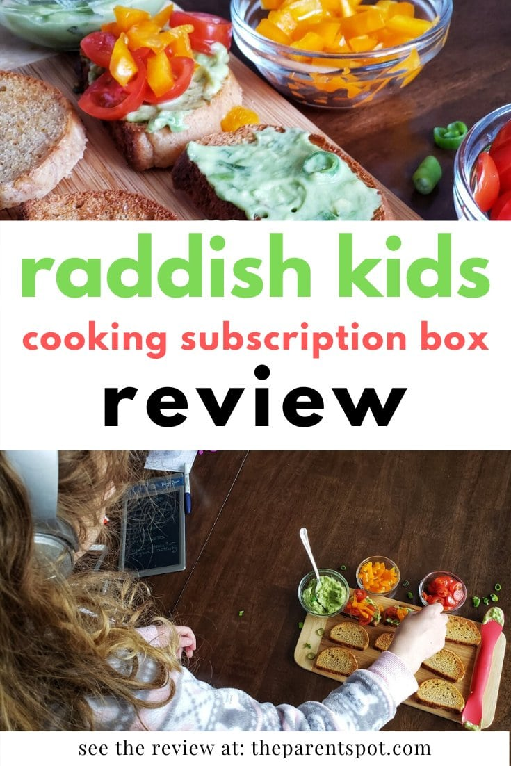 Raddish kids cooking subscription box review