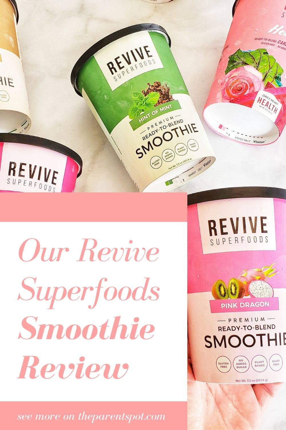 Revive Superfoods Smoothie Review