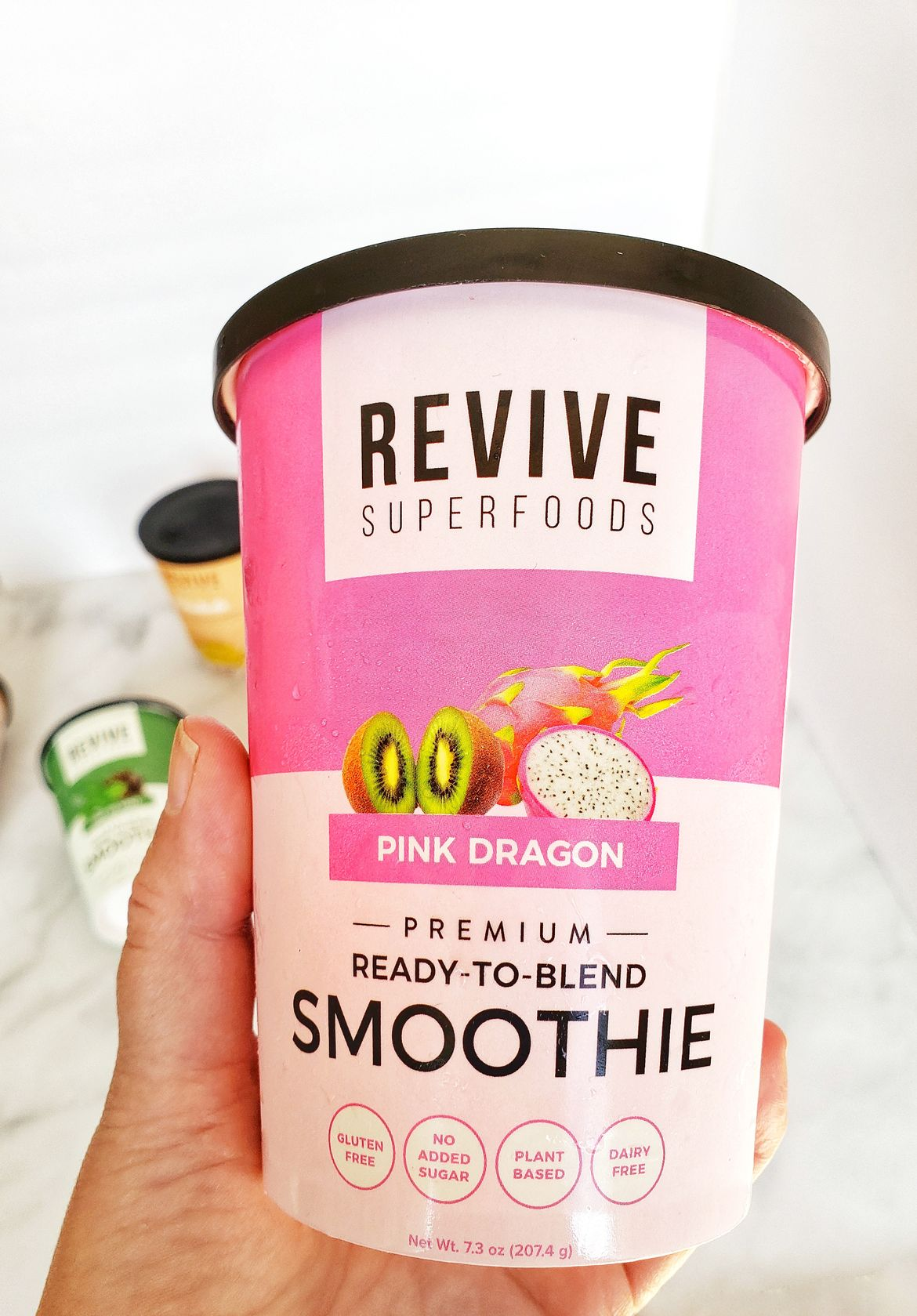 pink dragon revive smoothie