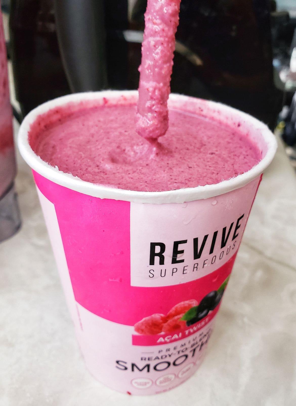 revive smoothie ready to enjoy