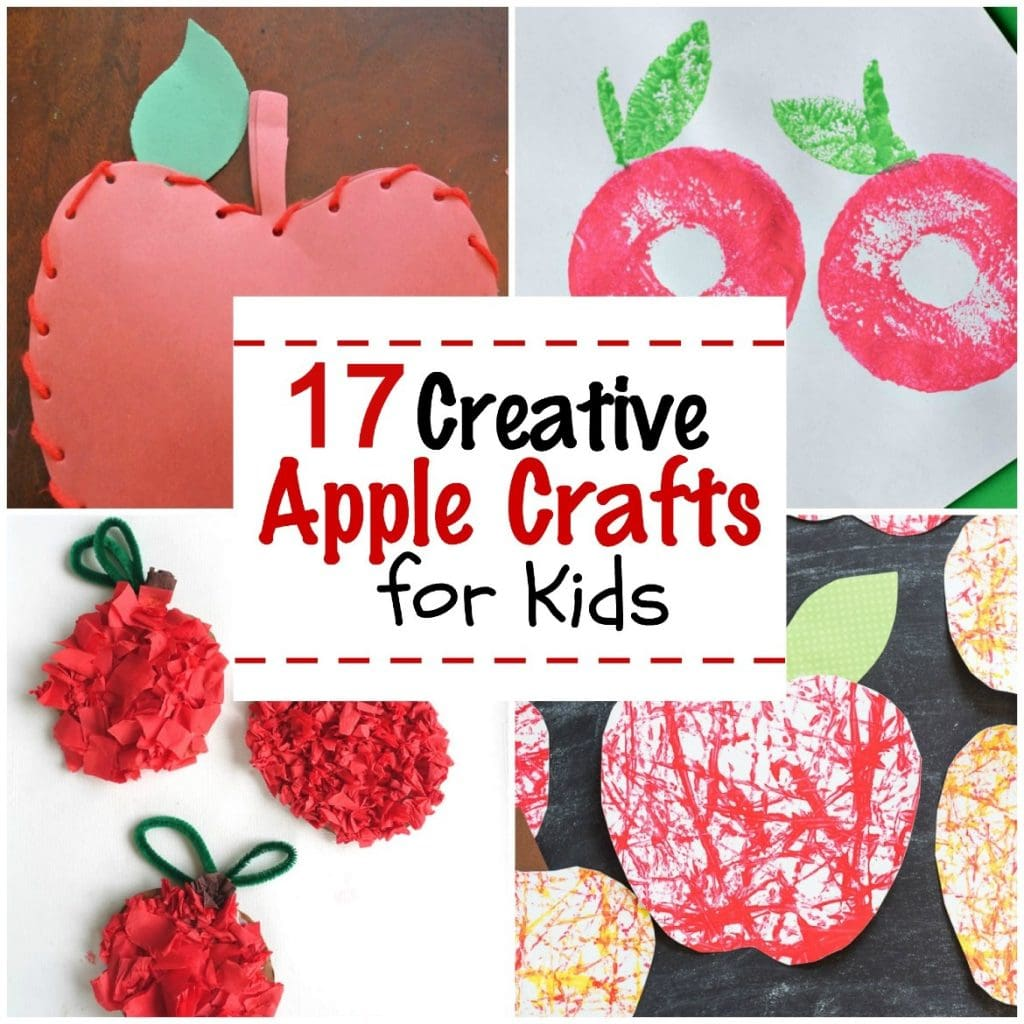17 Creative Apple Crafts for Kids