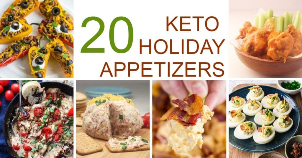 20 Keto Holiday Appetizers
