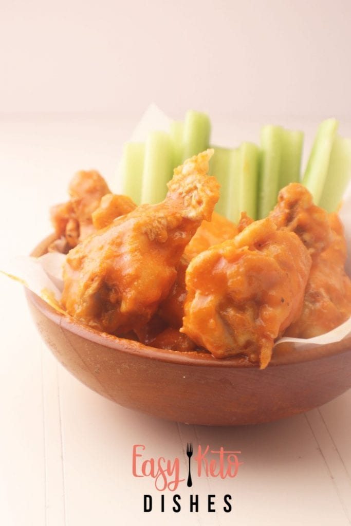 Easy Buffalo Wings from Easy Keto Dishes