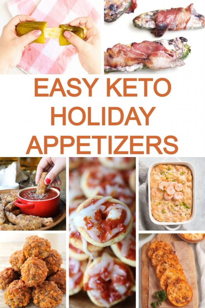 easy keto holiday appetizers