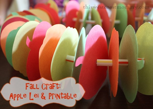 apple lei craft