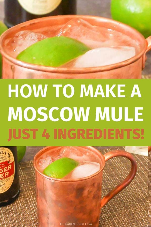 How to make a Moscow Mule with bitters