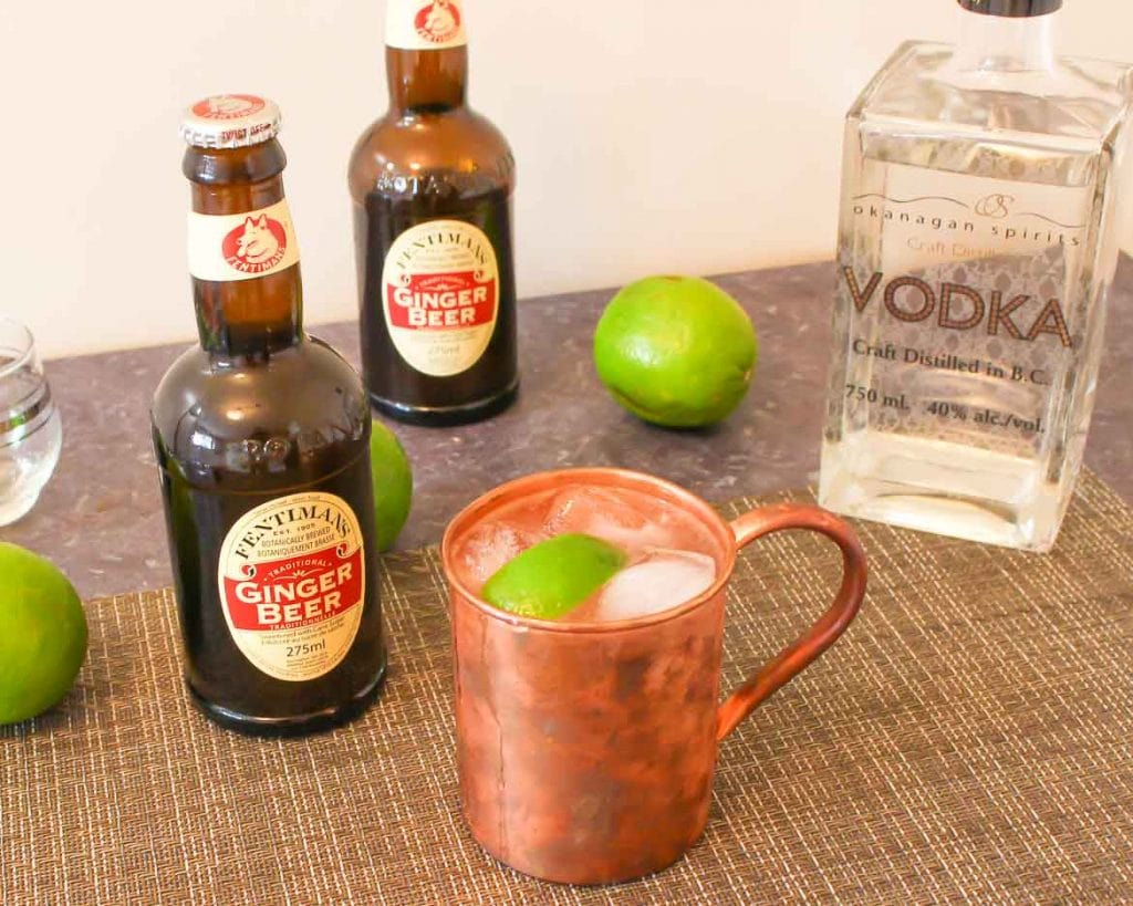 This Moscow Mule Is Made Special With A Splash Of Bitters Moscow Mule With Bitters Recipe