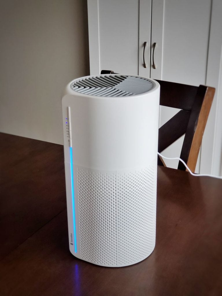 Sensibo Pure air purifier on a table