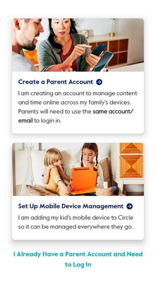 Circle Parental Controls app information