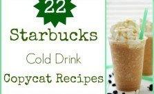 22 Starbucks Cold Drink Copycat Recipes