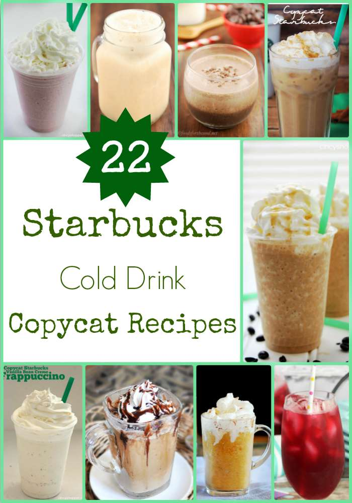 22 Starbucks Cold Drink Copycat Recipes