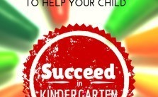 5 Tips To Help Your Little One Succeed in Kindergarten