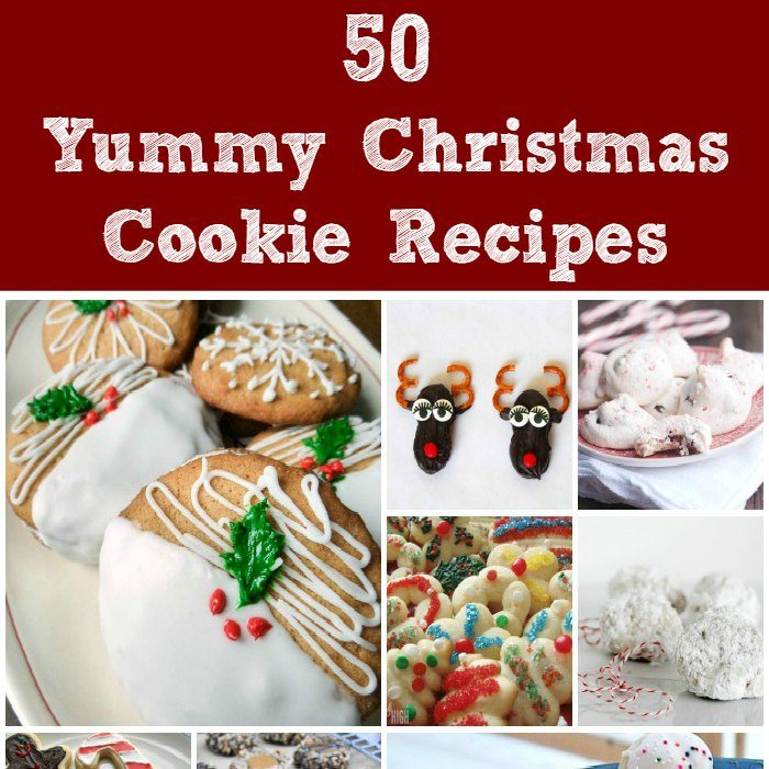 50 Christmas Cookie Recipes: 50 Yummy Christmas Cookie Recipes