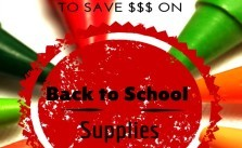 6 Tips for Saving Money on School Supplies SM