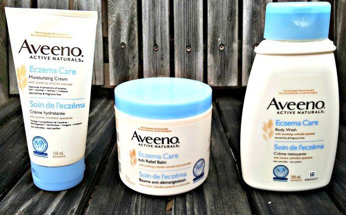 AVEENO Eczema Care line
