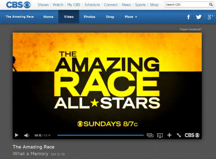 After Tunnelbear Video The Amazing Race CBS