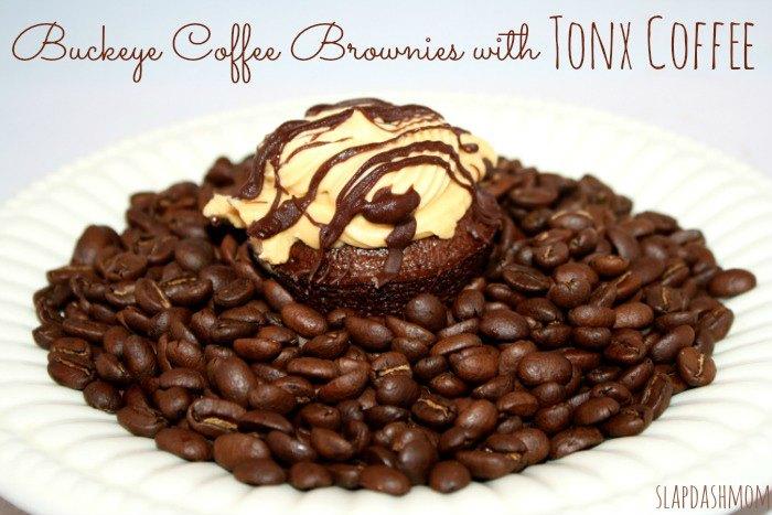Buckeye Coffee Brownies SlapDashMom