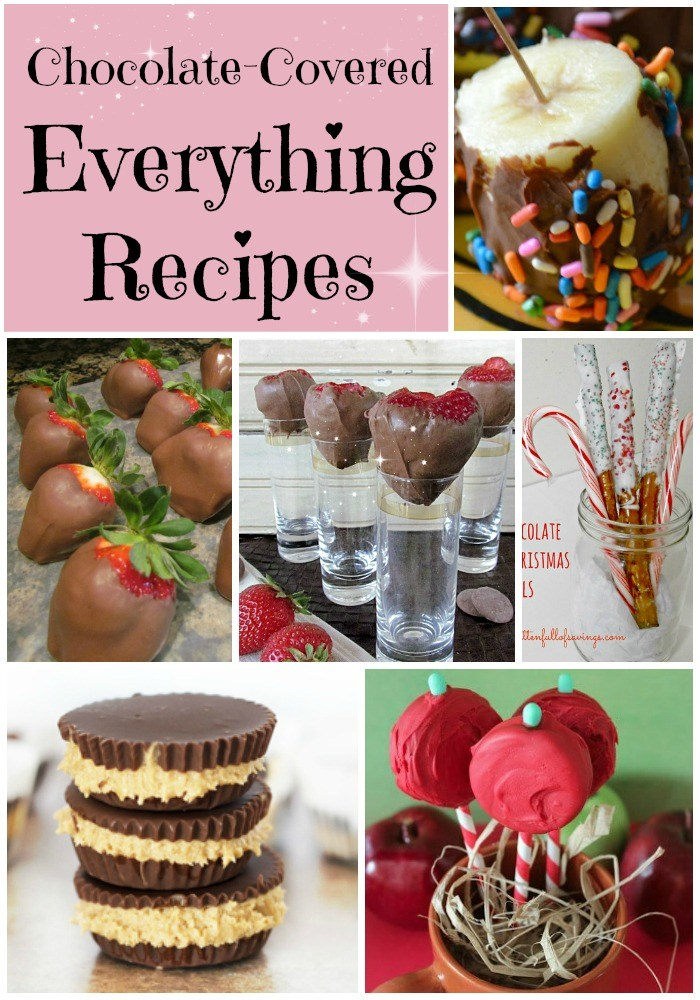 Chocolate Covered Everything Recipe Collection