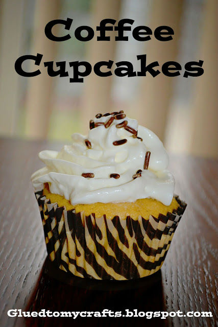 Coffee Cupcakes Glued To My Crafts