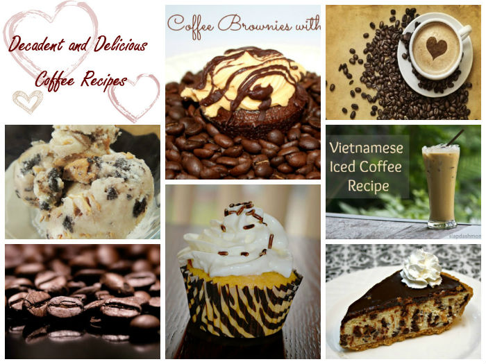 10 delicious Coffee inspired Recipes for National Coffee DayCollage