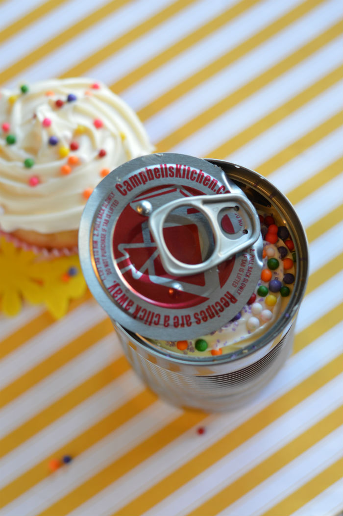 Cupcake in a Can Delicious