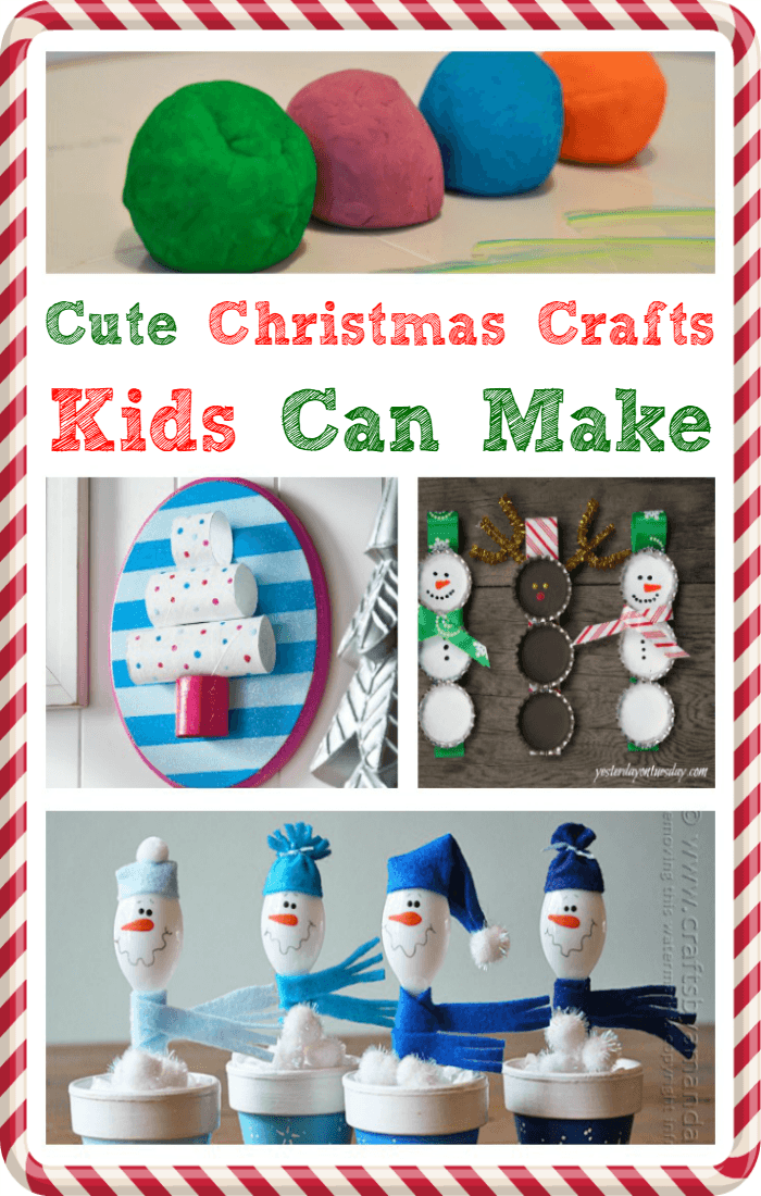25 Cute Christmas Crafts Kids Can Make