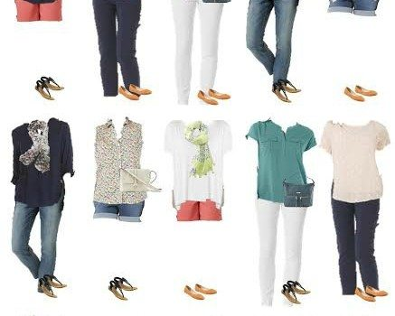 Cute and affordable mix and match summer outfits