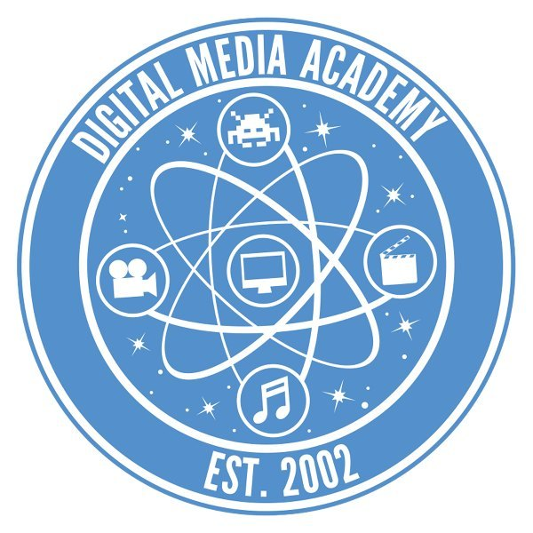 Digital Media Academy Blue Logo