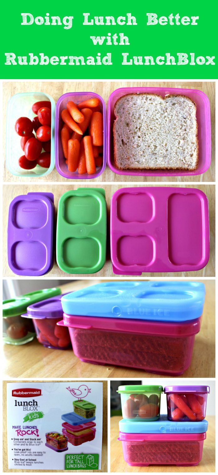 Doing Lunch Better with Rubbermaid LunchBlox