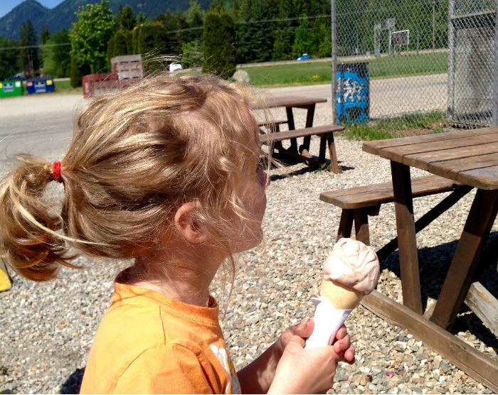 Dutchman Dairy Ice Cream Cone Sicamous BFN