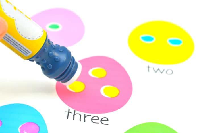 Easter Egg Dot Marker number three