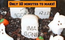 Easy Edible Cemetery Only 10 Minutes