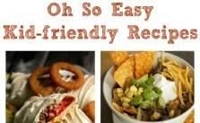 Easy Kid Friendly Recipes SM