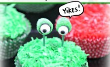 Easy Monster Eye Cupcakes