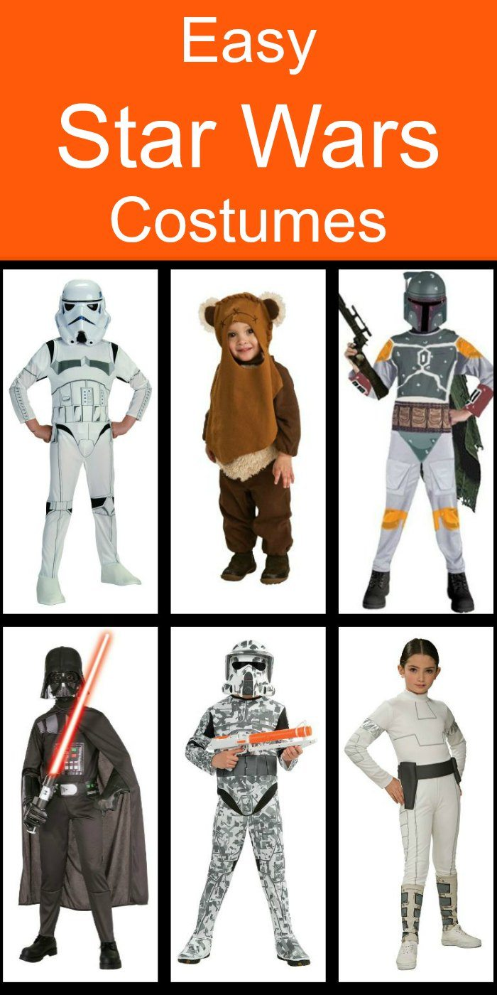 Easy Star Wars Costumes