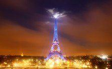 Eiffel Tower at Night by Omarukai on Flickr
