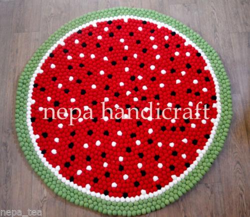 Etsy Freckled Pompom rug