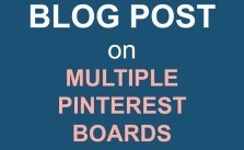 Fast and Easy way to schedule a blog post on multiple Pinterest boards with Tailwind and Board Lists