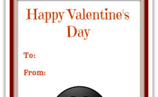 Free Printable Cute Penguin Valentine Card