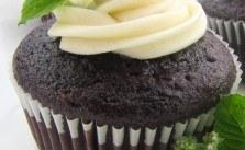 Fresh Mint Chocolate Cupcakes