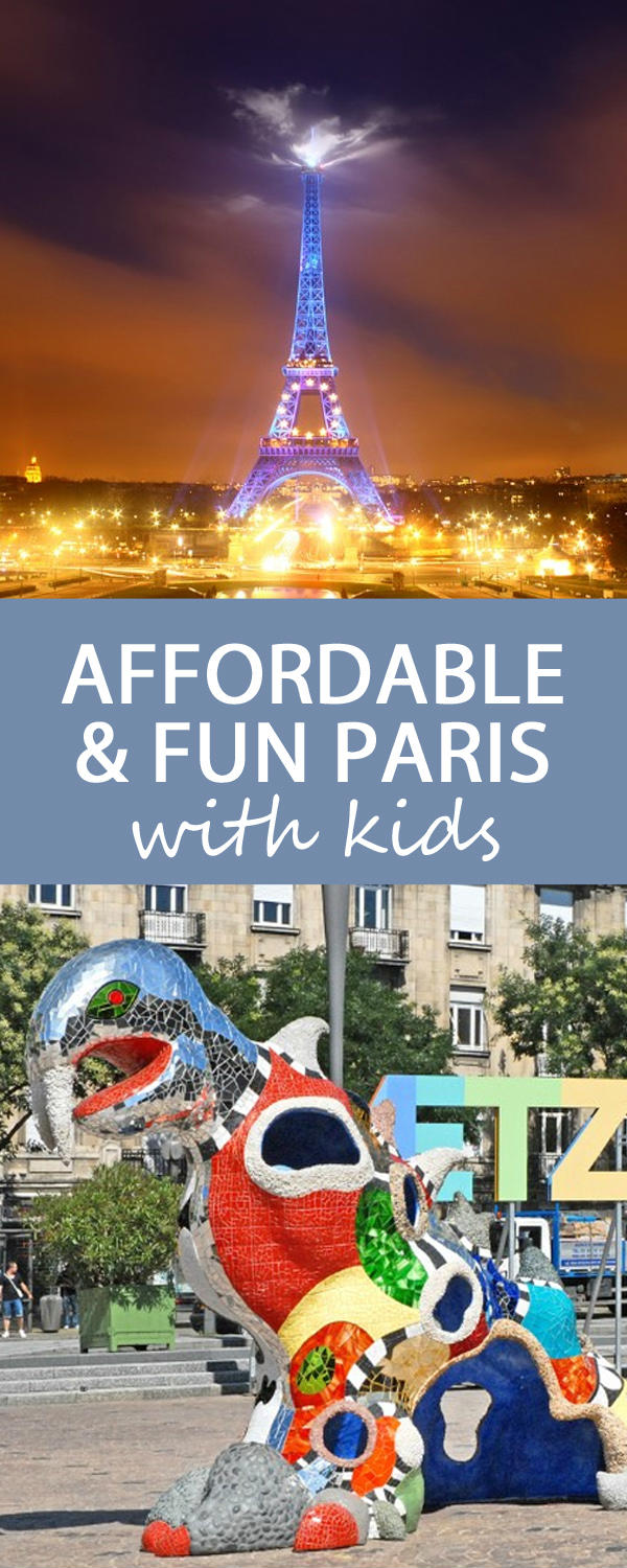 Fun and affordable Paris with kids