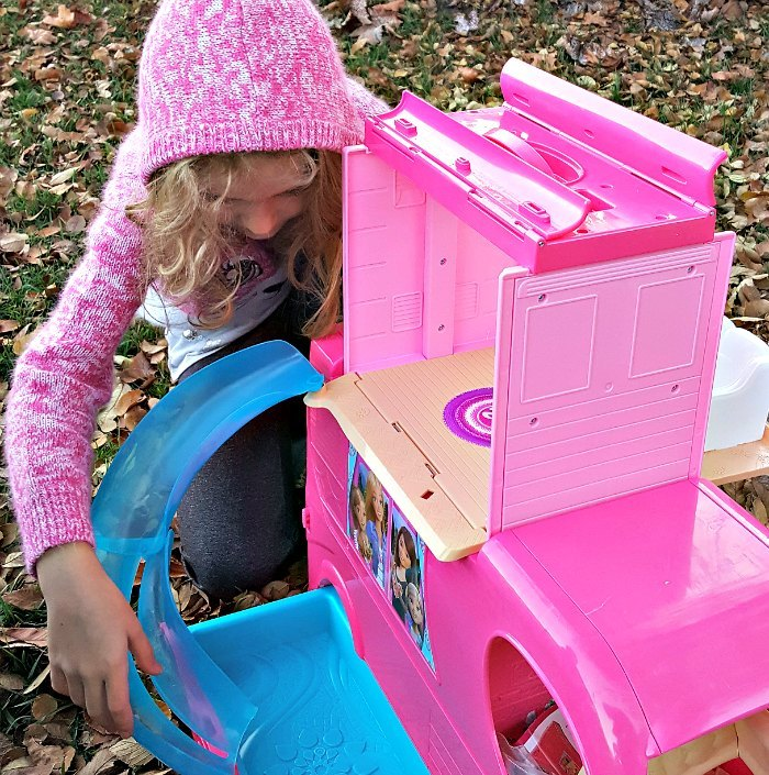 Barbie pop-up camper Gifts You Always Wanted As A Kid But Probably Didn't Get