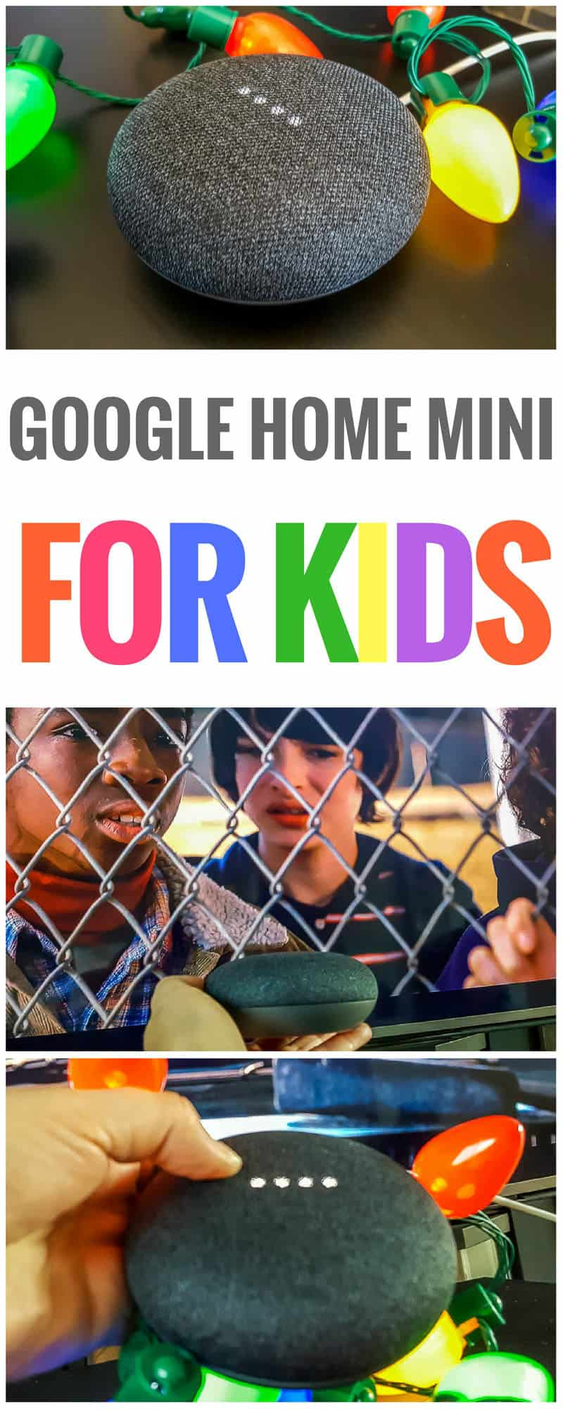 Google Home Mini for kids. These little Google devices can do a lot more than set appointments and help you with your calendar. Google Assistant is a lot of fun for kids, with fun games like Akinator, music at their command, and much more! Google Home Mini hacks | Google Home Mini tips | Things to ask the Google Home Mini | Google Home Mini device | Google Home Mini ideas | Google Home Mini for kids | Google Mini Tricks | what to do with the Google Home Mini #googlehome #madebygoogle