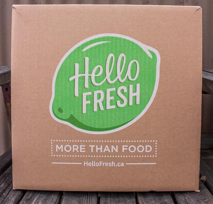 Hello Fresh Veggie Box