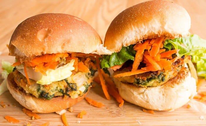 HelloFresh cannellini veggie burger