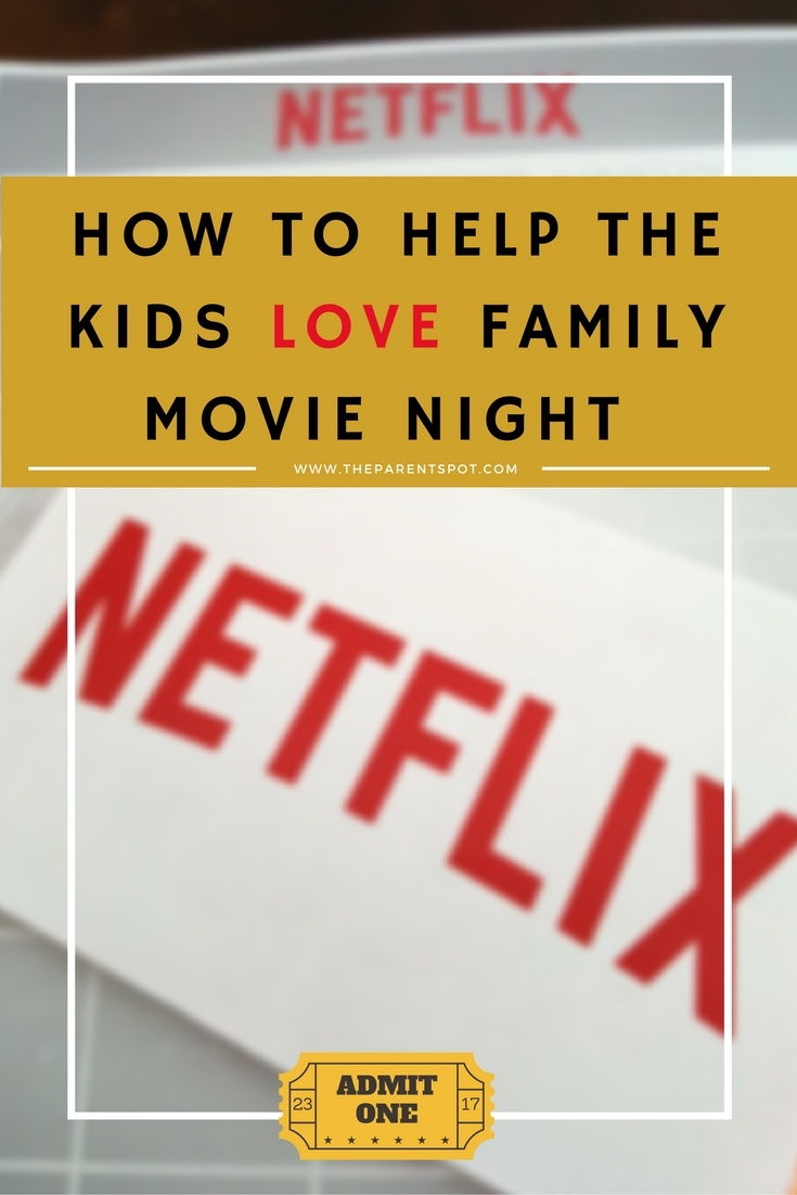 How to Help The Kids Love Family Movie Night