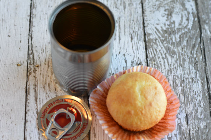 How to Make a Cupcake in a Can Assembly