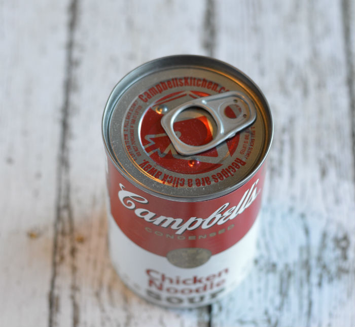 How to Make a Cupcake in a Can Campbells Soup Can