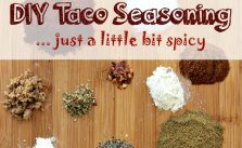 Just A Little Bit Spicy DIY Taco Seasoning Mix SM