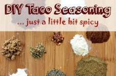 Just A Little Bit Spicy DIY Taco Seasoning Mix SM